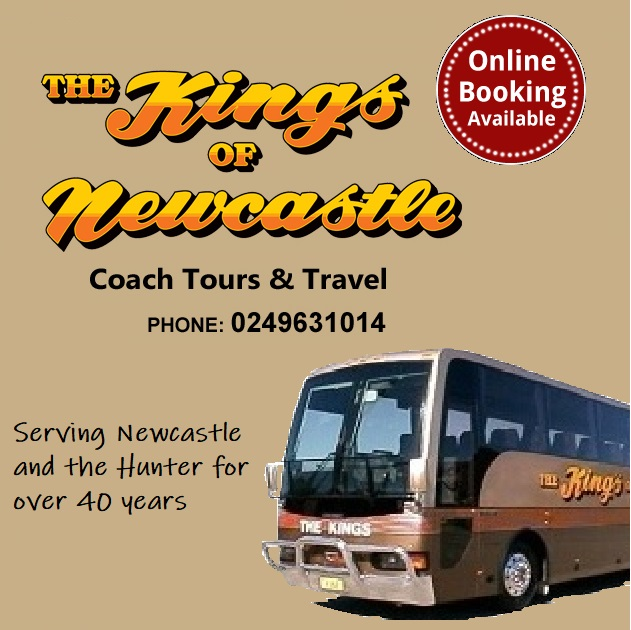 Kings Coaches Coach Tours Newcastle and the Hunter Valley